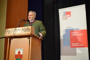 Auch Horst Arnold, Landtagsabgeordneter aus Fürth-Stadt, sicherte den Engagierten die Unterstützung der Politik zu